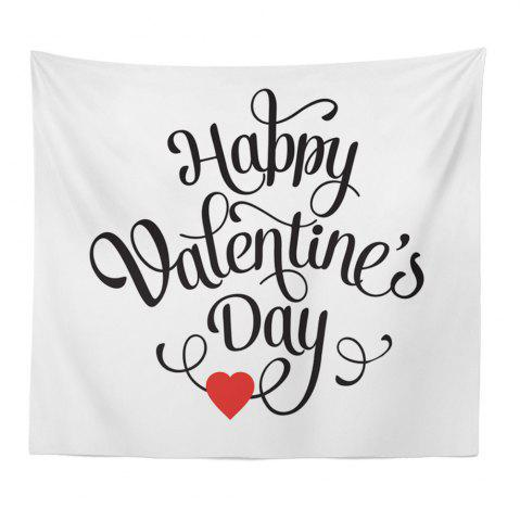 Affordable Hand-Made Hd Digital Printing Wall Decoration Tapestry Valentine'S Day Decoration
