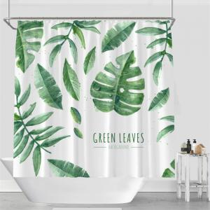 Colorful Tree Four Seasons Shower Curtain Extra Long Bath Decorations Bathroom Decor Sets with Hooks Print Polyester -