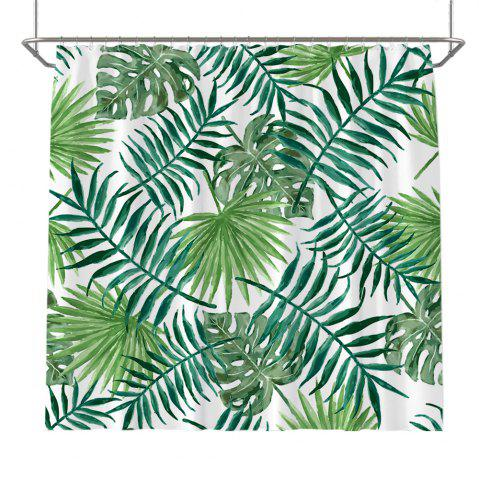 Latest Colorful Tree Four Seasons Shower Curtain Extra Long Bath Decorations Bathroom Decor Sets with Hooks Print Polyester