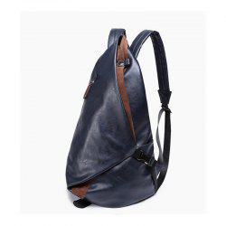 Men's Backpack Large Capacity Laptop Bag Korean Unisex Travel Rucksack Leather Knapsack -