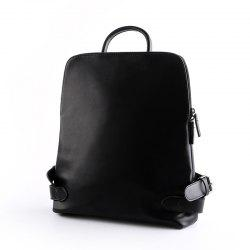 Leather Shoulder  Back Bag Men's Fashion Backpack Laptop Rucksack Unisex Knapsack -