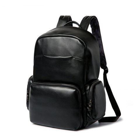 Fashion Black Shoulder Bag Students Backpack British Laptop