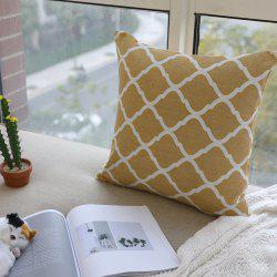 Home Cushion Cover Vintage Style Comfortable Pillowcase -