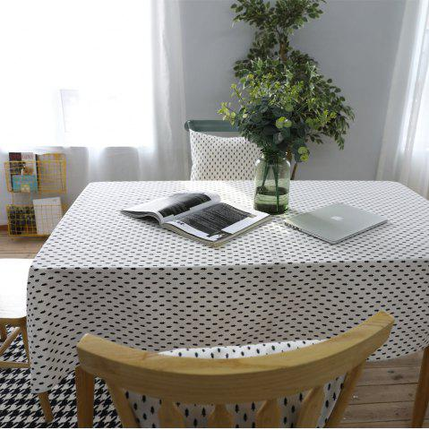 Trendy Table Runner Modern Simple Cedar Patterns Tablecloth Tablecover