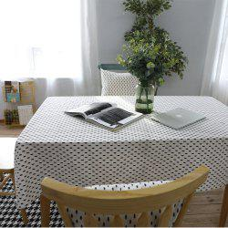 Table Runner Modern Simple Cedar Patterns Tablecloth Tablecover -
