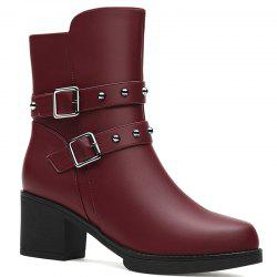 Female Thick with Velvet Boot -