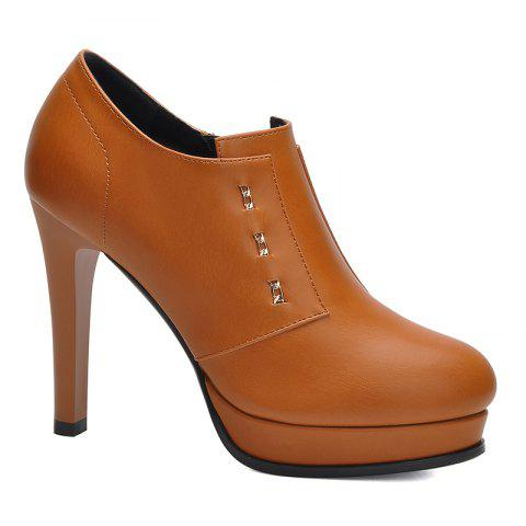 Cheap Women Fine and Waterproof Platform Pumps