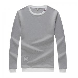 Men's Sweatshirt Set Long Sleeve O Neck Cotton Blends Pullover Set -