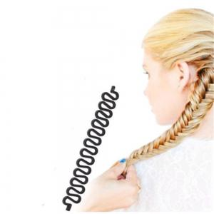 New Roller Hair Styling Tools Weave Braid Hair Braider Tool Hair Styling Magic Twist Bun -