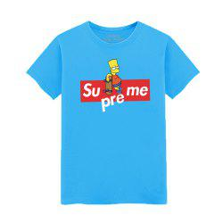 Men's Fashion Lovers Summer Students T-Shirt -