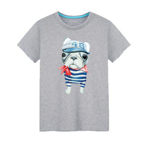 Chic Young Short Sleeved Fashionable T-Shirt