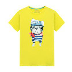 Young Short Sleeved Fashionable T-Shirt -