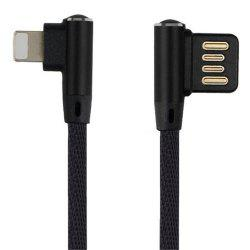 Iphone Double Bend Data Line -