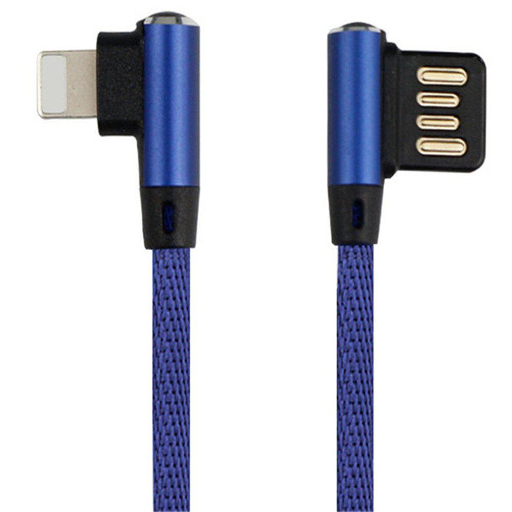 Shop Iphone Double Bend Data Line