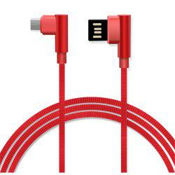 Type-C Double Bend Multi-Function Data Cable -
