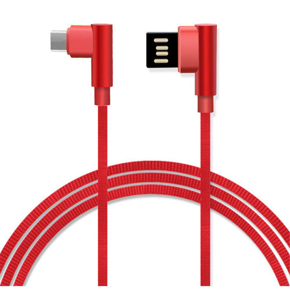Cheap Type-C Double Bend Multi-Function Data Cable