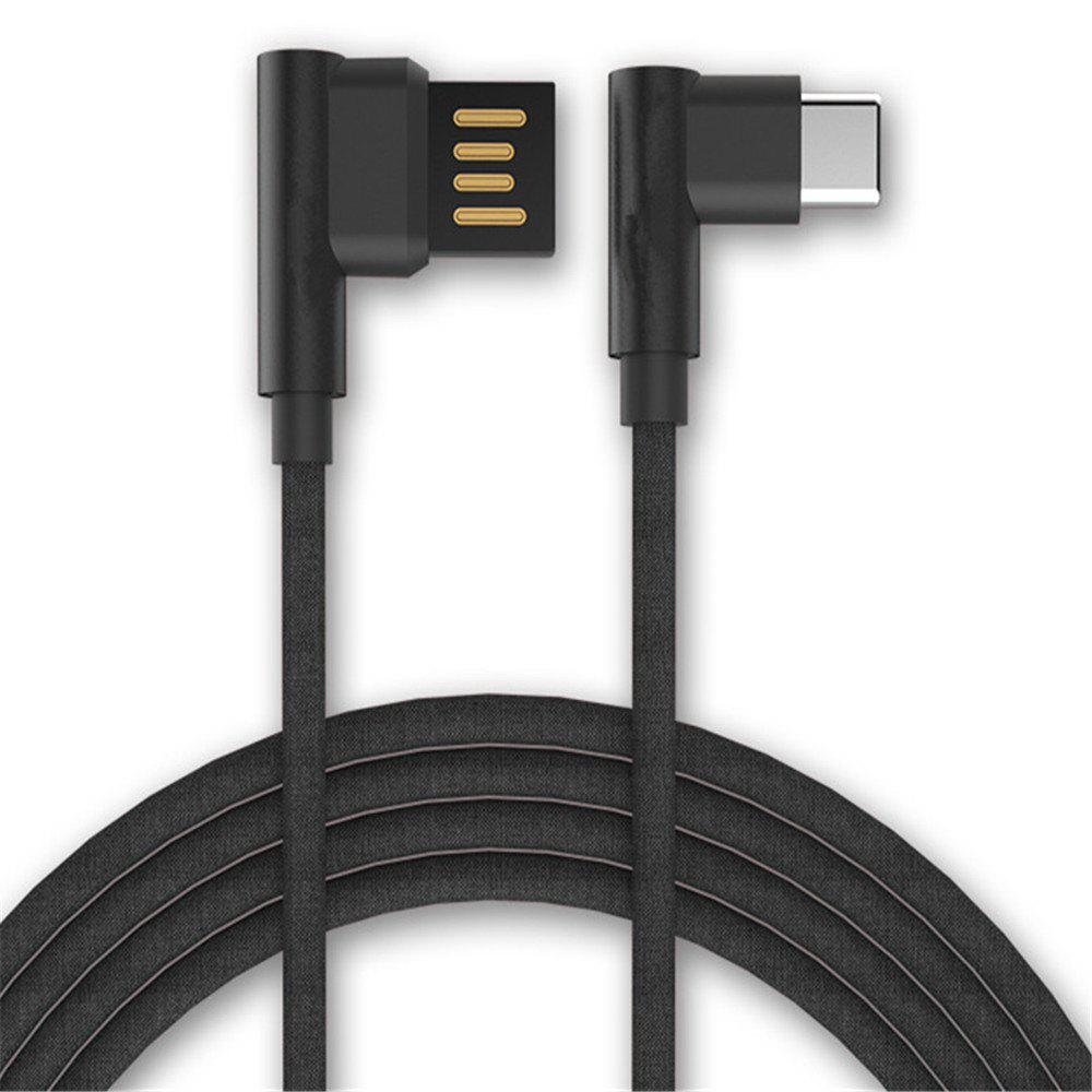Outfit Type-C Double Bend Multi-Function Data Cable