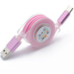 Type - C Fashion Cool Light Cable -