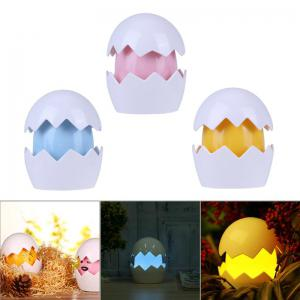 Cute Yolk Egg LED Night Light Children Baby Nightlight Toy Christmas Gift Switch Table Lamp Battery Powered for Kid Gift -