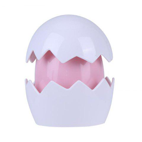 Online Cute Yolk Egg LED Night Light Children Baby Nightlight Toy Christmas Gift Switch Table Lamp Battery Powered for Kid Gift