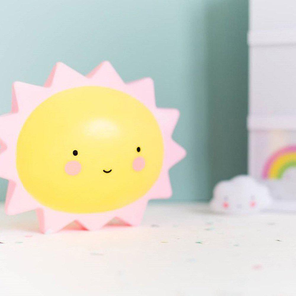 Affordable Cartoon Lovely Sun Shape Children Sleeping Bedroom Night Light