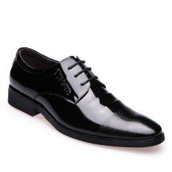 Leather Glossy Frenulum Shoe -