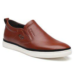 Leather Shoes Flat Bottomed Leisure -