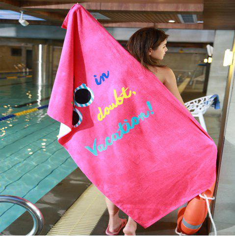 Online Lovely Soft Cotton Beach Towel