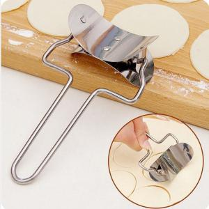 1 Pc Stainless Steel Dough Press Dumpling Pie Ravioli Mould Maker Cooking Pastry Tools -