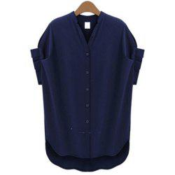Plus Size Women's Short Sleeves Shirt -