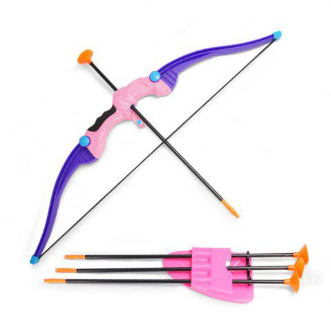 Outfit Bow  Arrow Children outdoor activity suction cup direct shooting toy suit