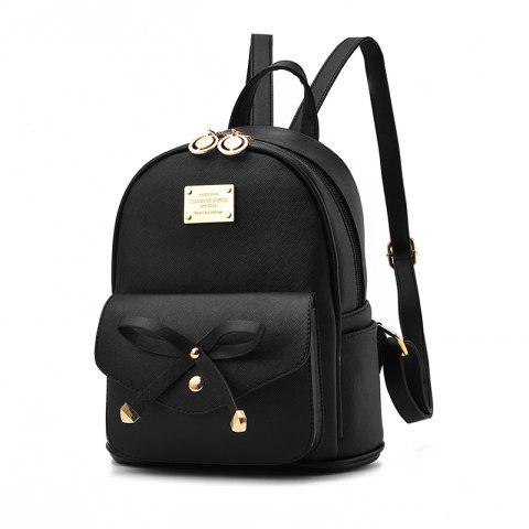 Hot Women's Backpack Fashion Solid Color Zipper Casual Bag
