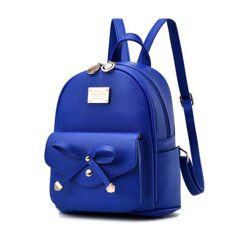 Outfit Women's Backpack Fashion Solid Color Zipper Casual Bag