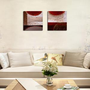 QiaoJiaHuaYuan No Frame Canvas Simple Sitting Room Sofa Background Study Adornment Print -