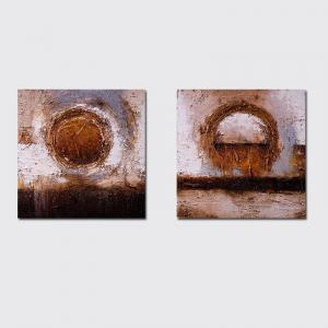 QiaoJiaHuaYuan No Frame Canvas Simple Living Room Sofa Background Abstract Decorative Print -