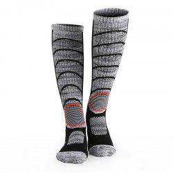 ZEACAVA Men and Women Young Mountaineering Long Tube Socks -