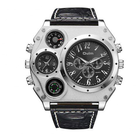 Outfit Large Dial Multi Time Man Watch