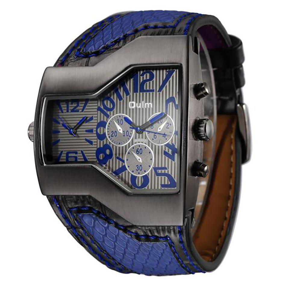 Affordable Personality Two Time Zone Tide Watch