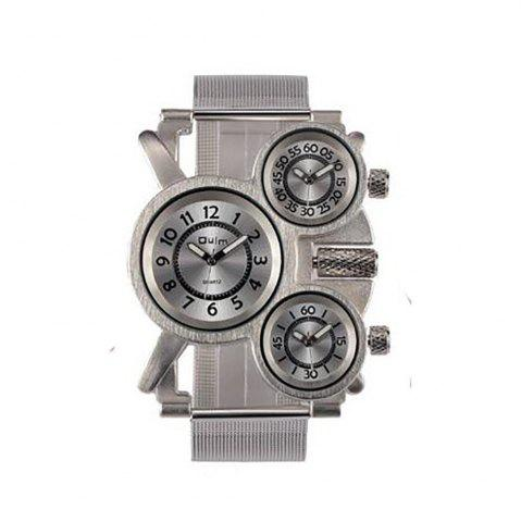 Shop Male Wristwatch of Alloy Strap in Multi Time Foreign Trade Area