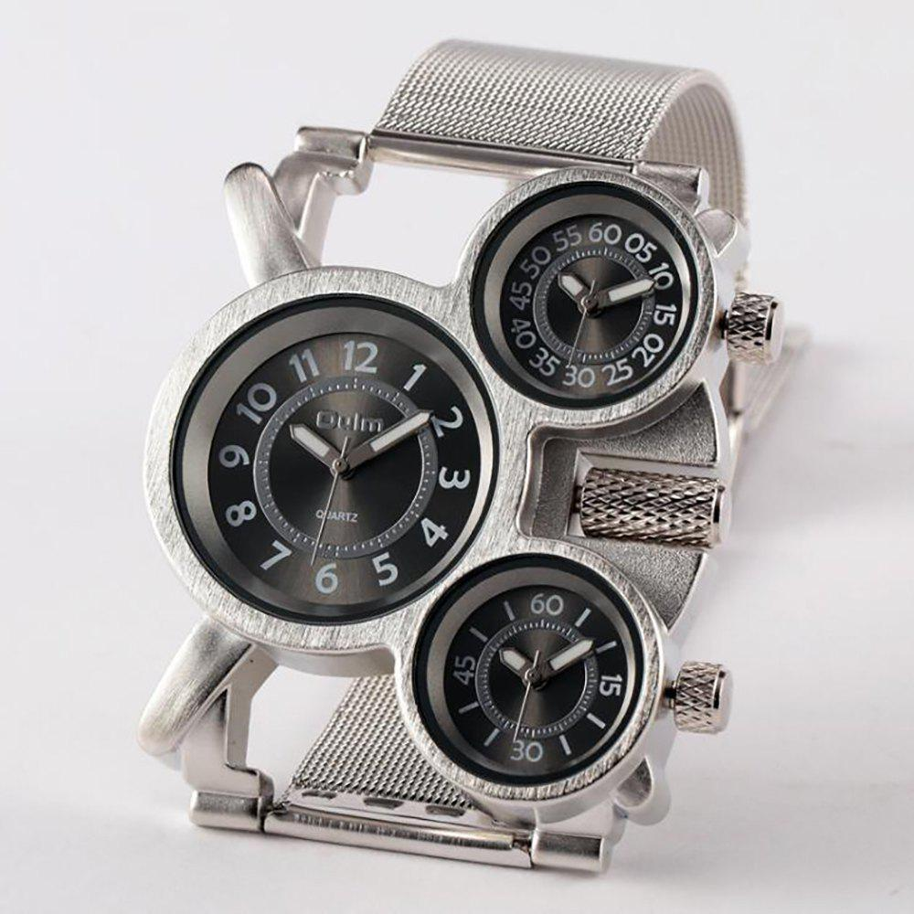 Fancy Male Wristwatch of Alloy Strap in Multi Time Foreign Trade Area
