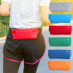 Outdoor Fitness Bag Sports Waist Running Invisible Slim Fitting Small Purse Multifunctional Belt Anti-theft -