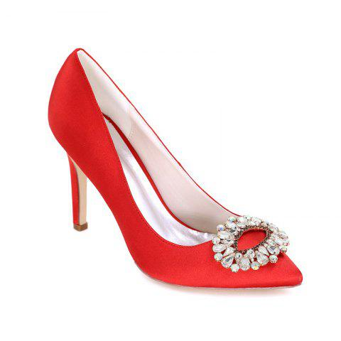 Hot Wedding Shoes with High Heels And Pointy Toes