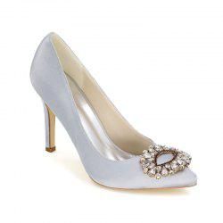 Wedding Shoes with High Heels And Pointy Toes -