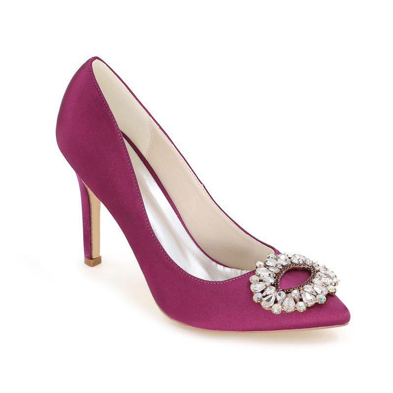Cheap Wedding Shoes with High Heels And Pointy Toes