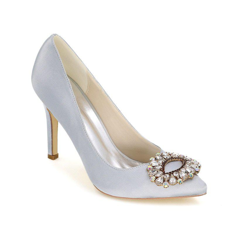 Online Wedding Shoes with High Heels And Pointy Toes