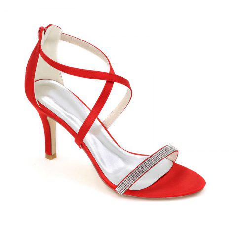 Outfit High-Heeled Sandal Wedding Shoes