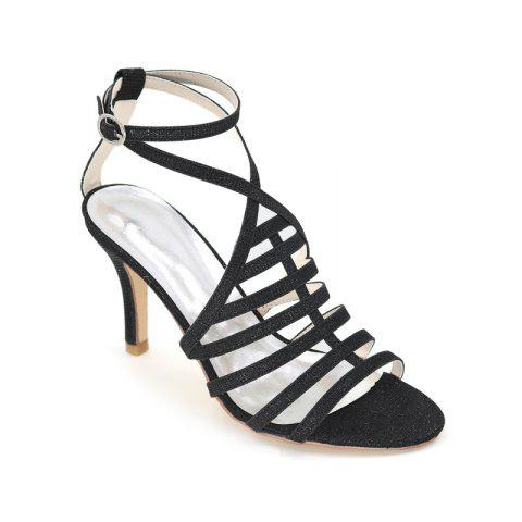 Chic Ladies High Heel Roman Sandals