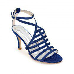 Ladies High Heel Roman Sandals -