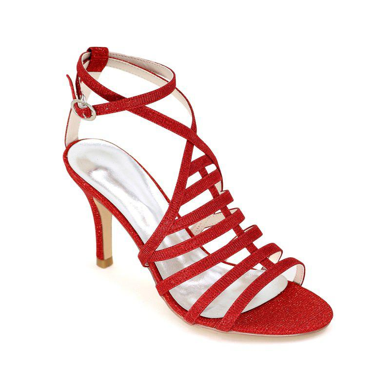 New Ladies High Heel Roman Sandals