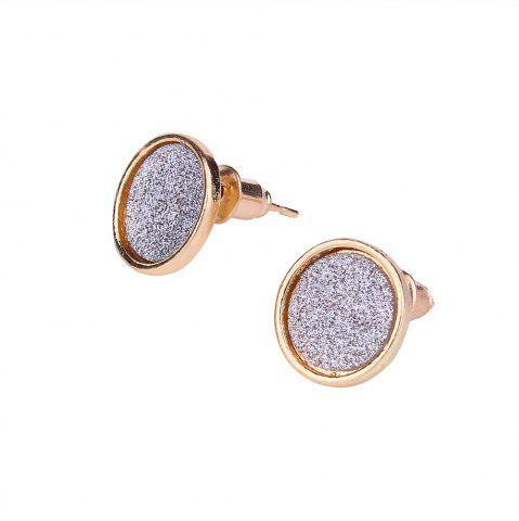 Buy Multicolor Round Pu Three Pair Earrings